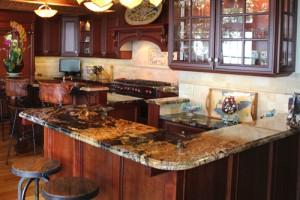 De Spirt Mosaic & Marble Kitchen Countertop