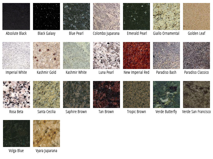 Granite Countertops Names : Granite de spirt mosaic marble buffalo ny